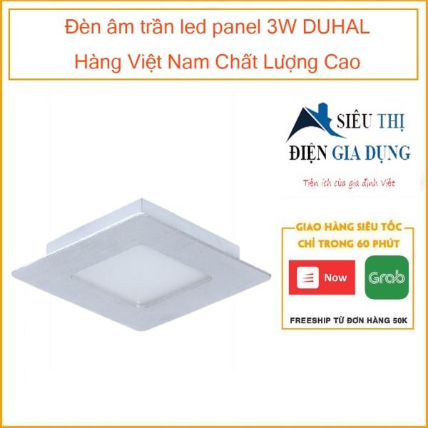 Đèn âm trần led panel 3W DUHAL Hàng Việt Nam Chất Lượng Cao SDGV503