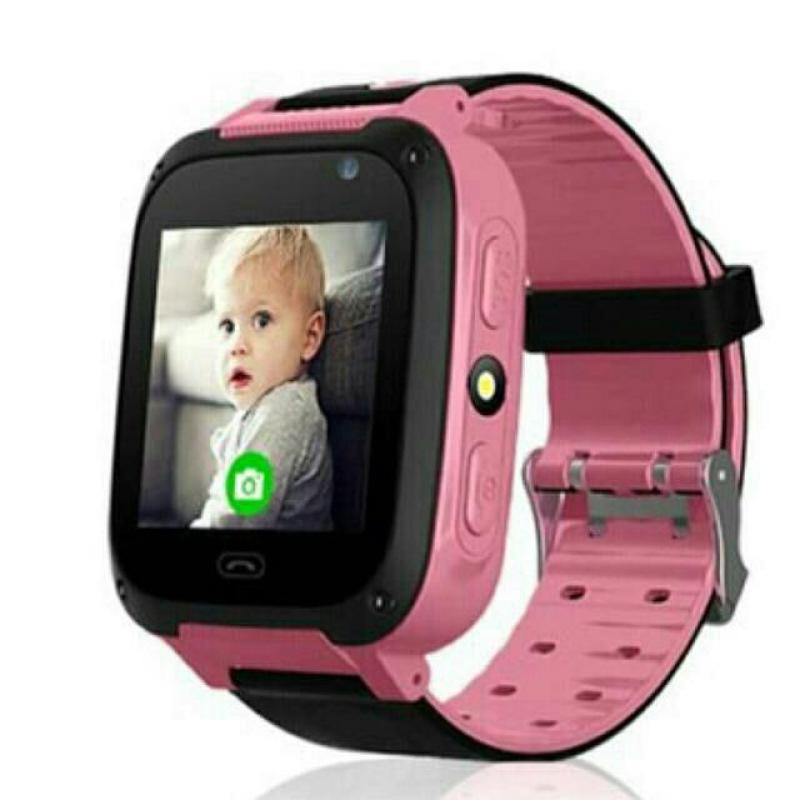 Đồng hồ định vị trẻ em Q90 (có camera)(hồng) bán chạy