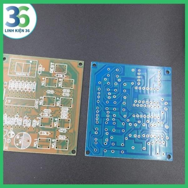 Bảng giá Mạch In PCB CD4511 Ứng Dụng Nút Nhấn Phong Vũ