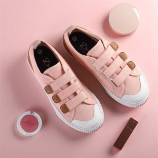 Giày Sneaker Chính Hãng Dincox Coxshoes Dán Quai E01 Pink thumbnail