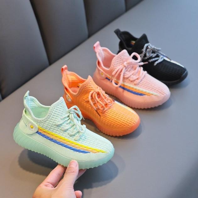 Giày Thể Thao Buộc Dây Dễ Thương Cho Bé Từ 2-12 Tuổi giá rẻ
