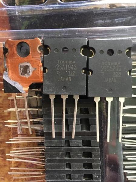 2SA1943 2SC5200 cặp sò âm thanh A1943 C5200 chất lượng nguyên gốc