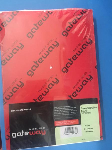 Mua Giấy Vẽ Scan Gateway A4, A3 (Định Lượng 83g) - Tracing Paper-Hộp 250 tờ