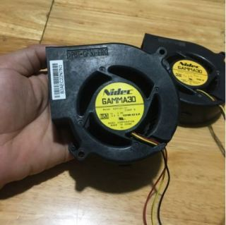 Quạt vỏ sò 12V, quạt tản nhiệt NIDEC thumbnail