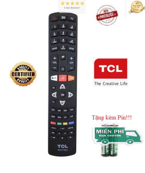 Bảng giá Điều khiển tivi TCL - TV TCL các dòng CRT LCD LED Smart TV- Hàng tốt- ALEX - ALEX - TẶNG KÈM PIN