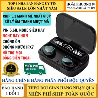 Tai Nghe Bluetooth M10 Phiên Bản Pro Nâng Cấp Mới Điều Khiển Cảm Ứng, Chip 5.1 Bluetooth Mạnh Mẽ, Micro Đàm Thoại 2 Bên, Hỗ Trợ Mọi Dòng Điện Thoại Hay Hơn Tai Nghe Bluetooth i12 thumbnail
