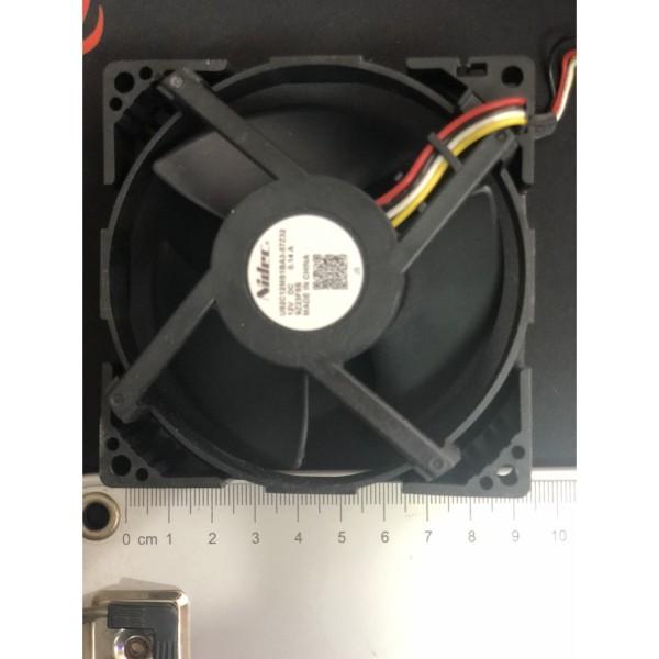 Quạt tủ lạnh DC 12V 4 dây (hình vuông 9x9cm)