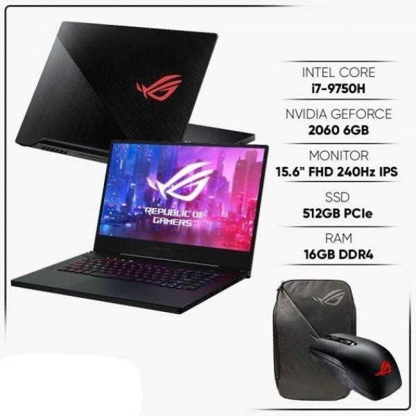 Bảng giá Laptop ASUS ROG Zephyrus M GU502GV-AZ079T (Core i7-9750H/ 16GB DDR4 2666MHz/ 512GB SSD PCIE/ RTX 2060 6GB/ 15.6 FHD IPS 240Hz, 3ms/ Win10) - Hàng Chính Hãng Phong Vũ