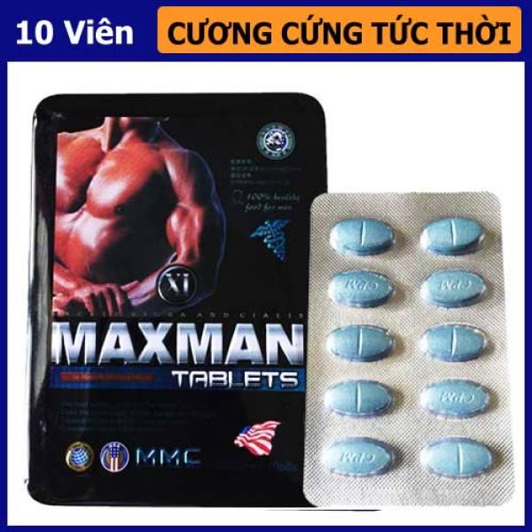 Maxman thảo dược - Cải thiện sk nam, hỗ trợ sinh lực phái mạnh (maxmen, max men, max man)