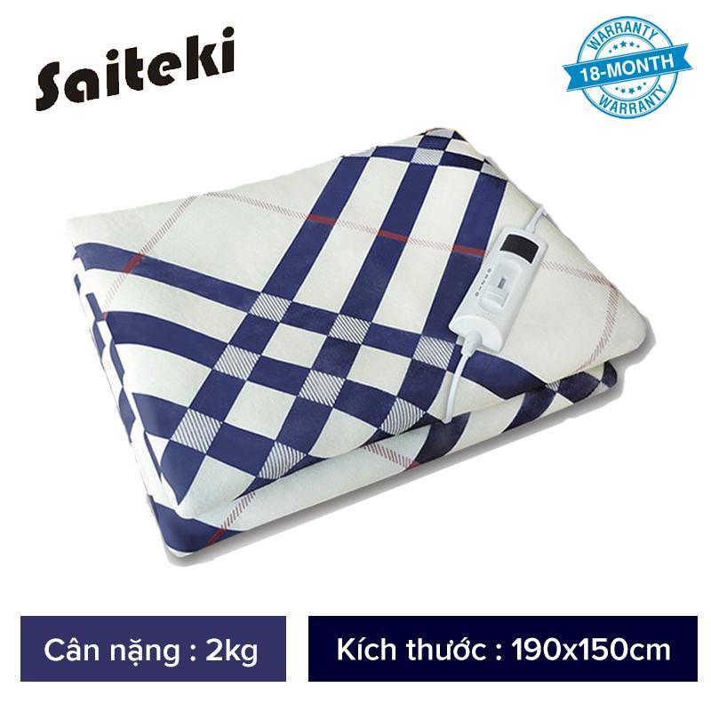 Chăn điện nhật bản cao cấp Saiteki, giặt được bằng máy giặt, bảo hành 18 tháng