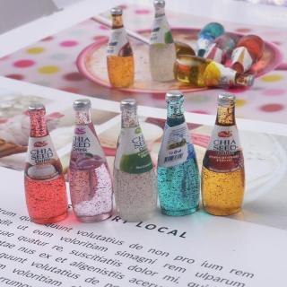 Squishy Slime Mô hình set 05 chai nước ngọt hạt chia ToySquishy thumbnail