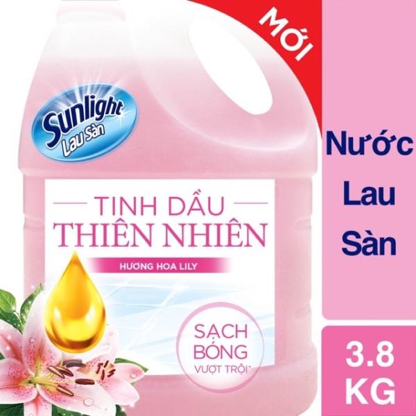 Nước lau sàn Sunlight 3.8kg