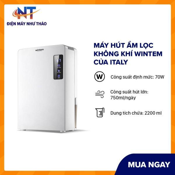 Bảng giá Máy hút ẩm lọc không khí Wintem của Italy-Bảo hành 1 năm Điện máy Pico