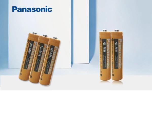 Combo 2 viên Panasonic Hiệu Suất Cao pin AAA 1500 lần sạc NI-MH 1.2v