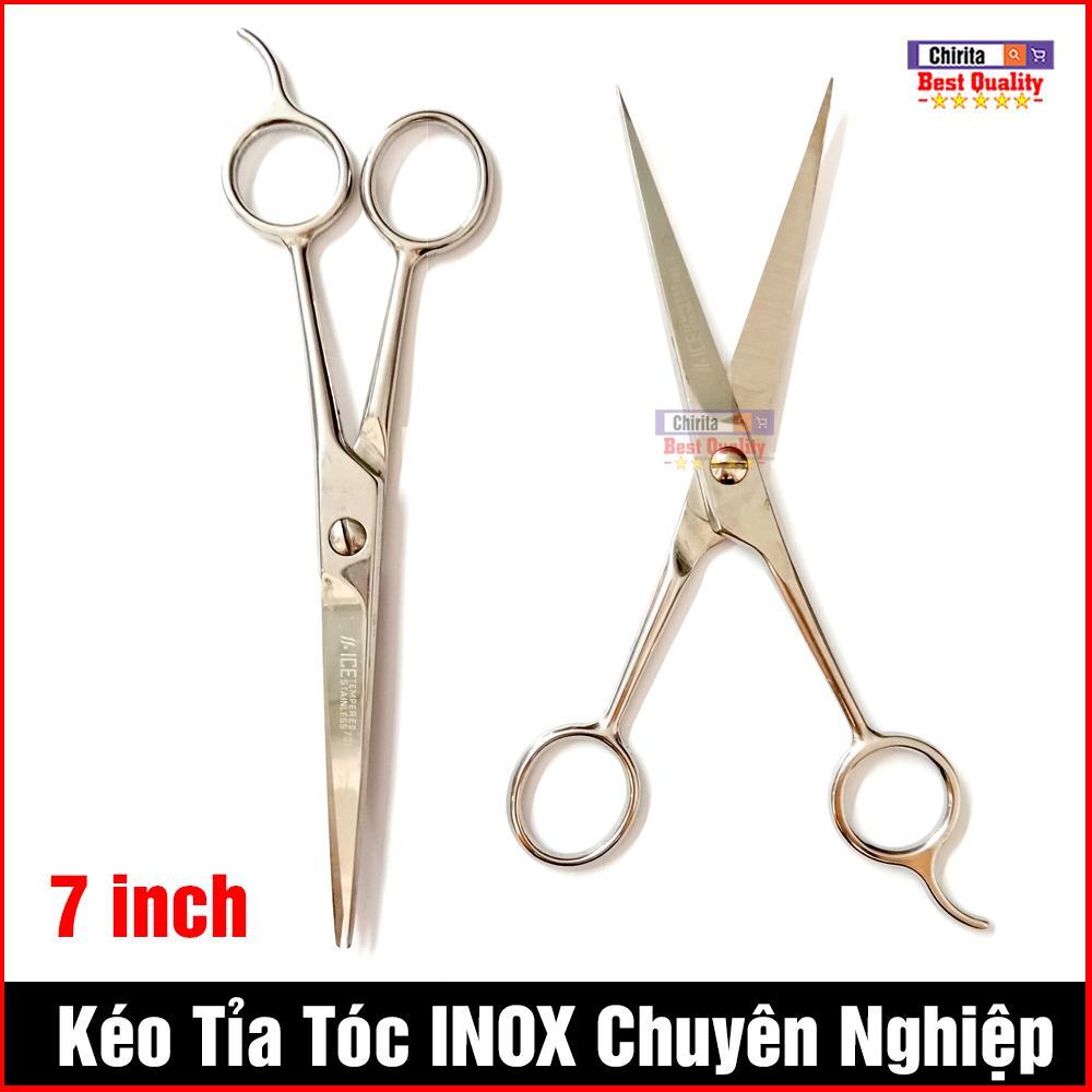 Kéo Cắt Tóc Tạo Kiểu Tóc Chuyên Nghiệp 7 inch - Kéo Tỉa Tóc INOX Cao Câp 701-7