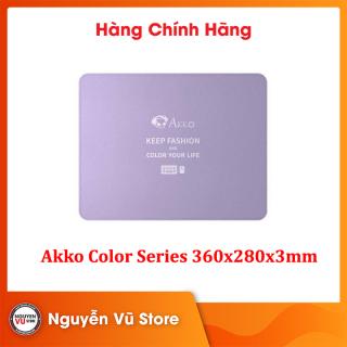 Pad chuột chơi game Akko color series 360x280x3mm thumbnail
