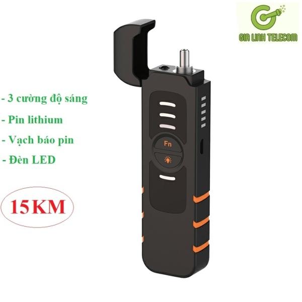 Bảng giá Bút Soi Cáp Quang B3S Pin Sạc 15KM - new 2021 Phong Vũ