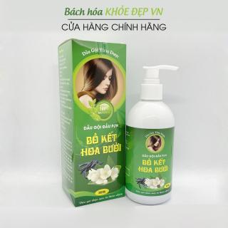 Dầu gội thảo dược Bồ Kết Hoa Bưởi giảm nấm ngứa, ngăn rụng tóc, kích thích mọc tóc - Chai 300ml thumbnail