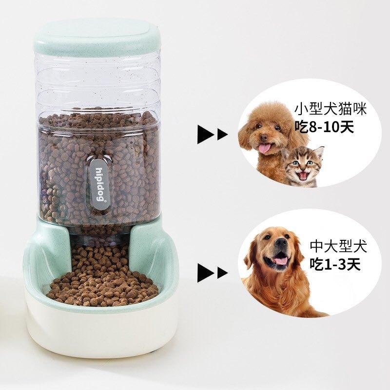 Bình nước và thức ăn tự động cho chó mèo