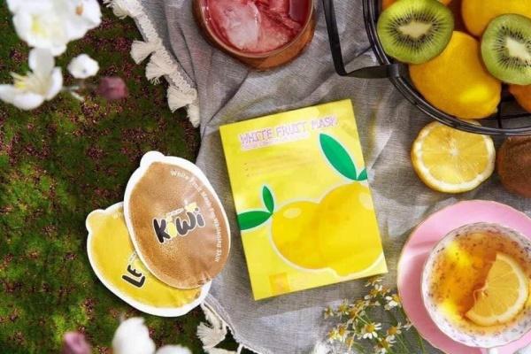Ủ trắng chanh Lemon White Fruit Mask giá rẻ