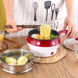 (RẺ VÔ ĐỊCH) Ca Điện Nấu Mì Đa Năng Mini 2 Tầng Ca Mì Thông Minh - Dụng Cụ Nấu Ăn Nồi Lẩu Mini Đò Dùng Nấu Ăn Chuyên Biệt Dụng Cụ Nhà Bếp Đồ Gia Dụng - Bách Hóa Tổng Hợp thumbnail