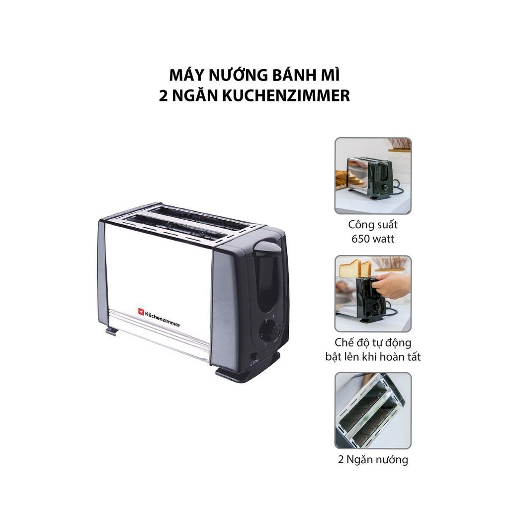 Máy Nướng Bánh Mì 2 Ngăn KuchenZimmer Mã 3000488