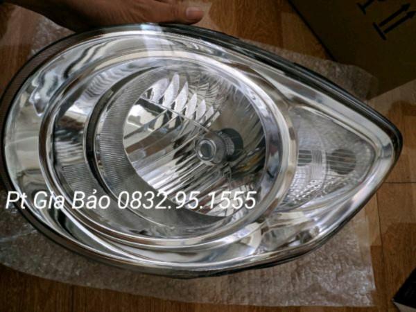 Đèn pha Morning 2008-2011 giá 1 cái ( mí trắng )