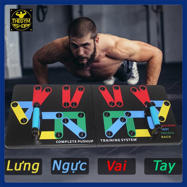 Bảng giá Bộ chống đẩy đa năng Power Press Push Up tập ngực, lưng, vai, tay