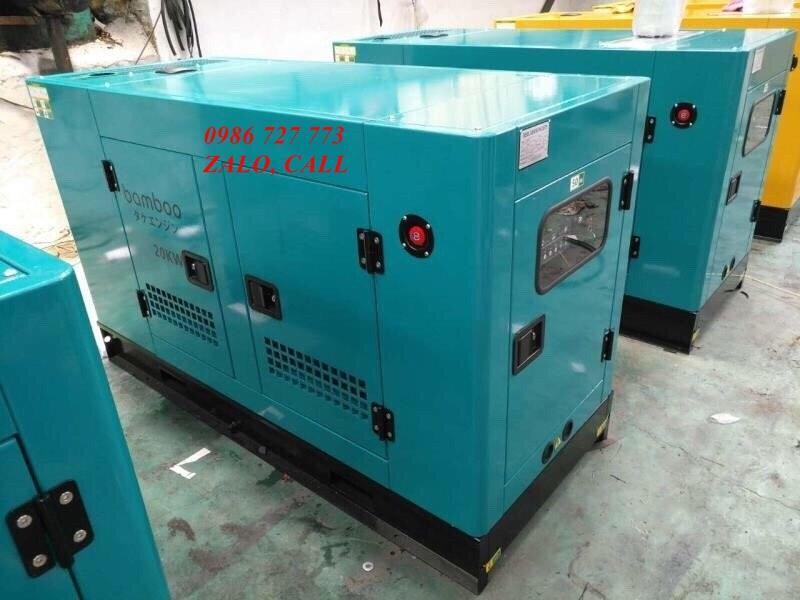 Máy phát điện công suất 20kw Bamboo BmB 20Euro có tủ ATS