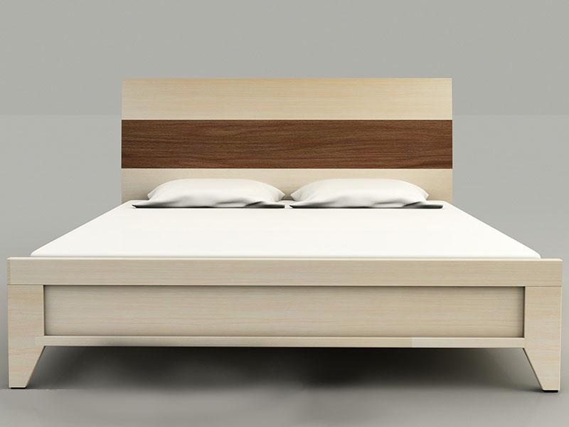 Giường Ngủ HT 23 MDF Melamine Vân Gỗ chống trầy xước