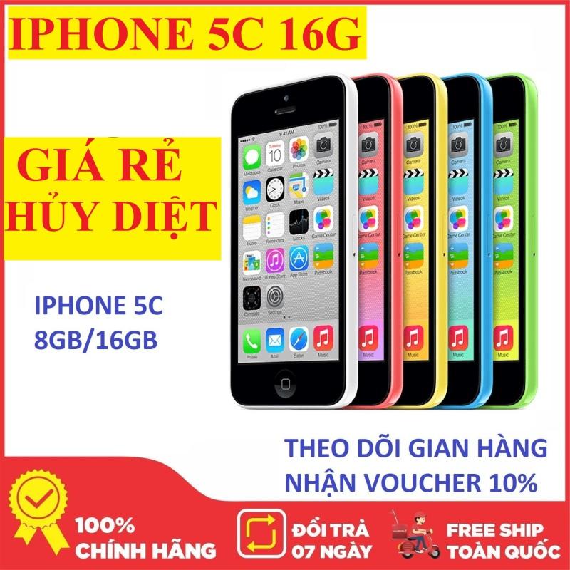 điện thoại CHÍNH HÃNG Iphone5C Quốc Tế 16G máy đẹp mới Full Chức năng-Bảo hành uy tín