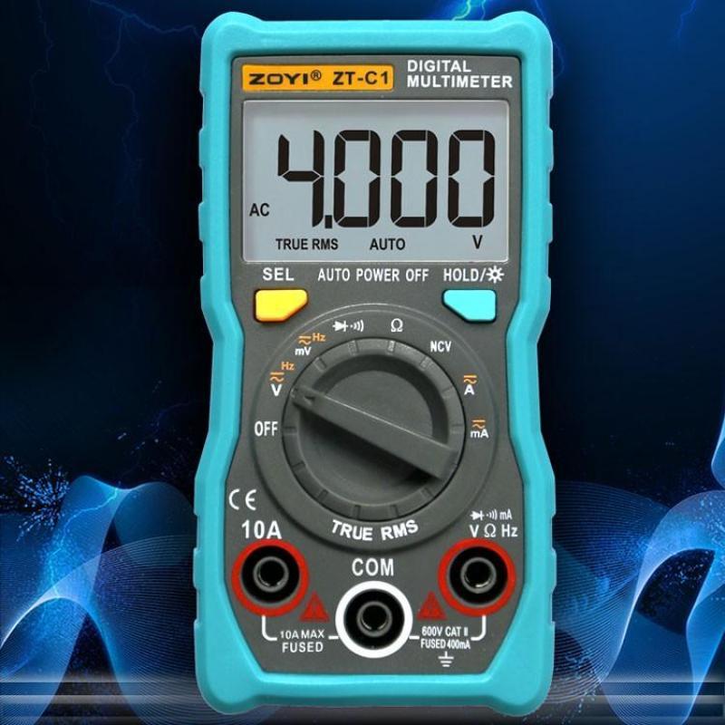 Đồng hồ vạn năng Zotek Zoyi ZT-C1 Multimeter mẫu mới nhất 2019 Bảo Hành 12 tháng