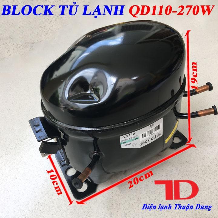 Block Tủ Lạnh QD110 270W
