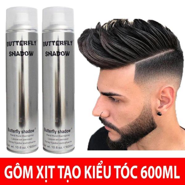 Gôm Xịt Tóc Nam BUTTRELFY SHADOW 600ML [Chuẩn Loại 1] giá rẻ