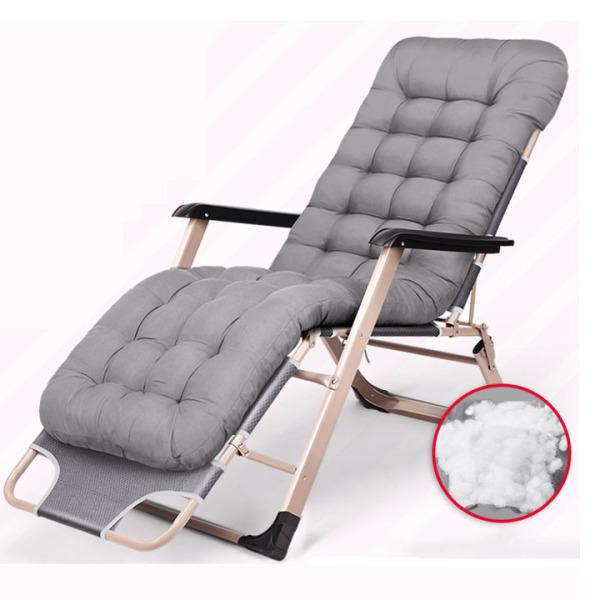 Ghế gấp văn phòng [ TẶNG KÈM ĐỆM VÀ GỐI ] Giường gấp cao cấp. Ghế nằm ngủ gấp gọn, ghế ngả lưng tiện lợi, hiện đại. giá rẻ