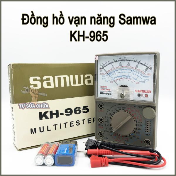 Đồng hồ đo điện vạn năng VOM Samwa KH-965 tặng kèm pin