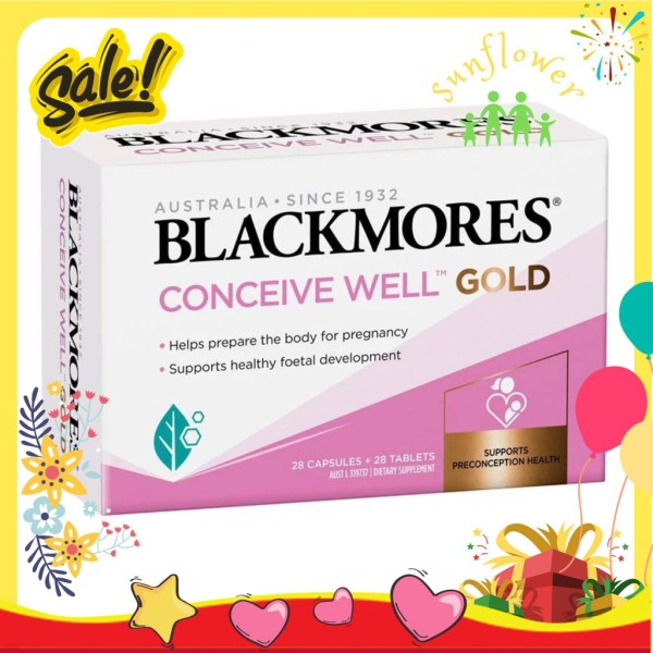 Blackmores Conceive Well Gold 56 viên của Úc - Tăng khả năng thụ thai