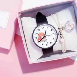 Đồng hồ thời trang nam nữ Candycat hoạt hình Ponyo ngộ nghĩnh K995 thumbnail
