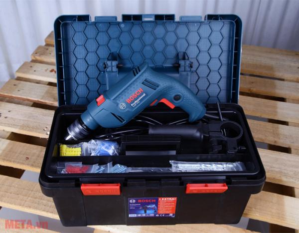 Bộ máy khoan động lực Bosch GSB 550 FREEDOM 90 chi tiết