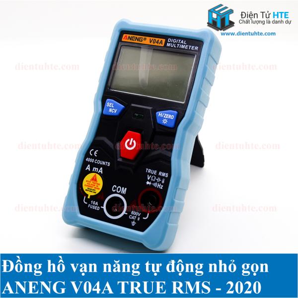 Đồng hồ đo tự động ANENG V04A True RMS Version 2020 kèm bộ que đo đa năng 18 in 1