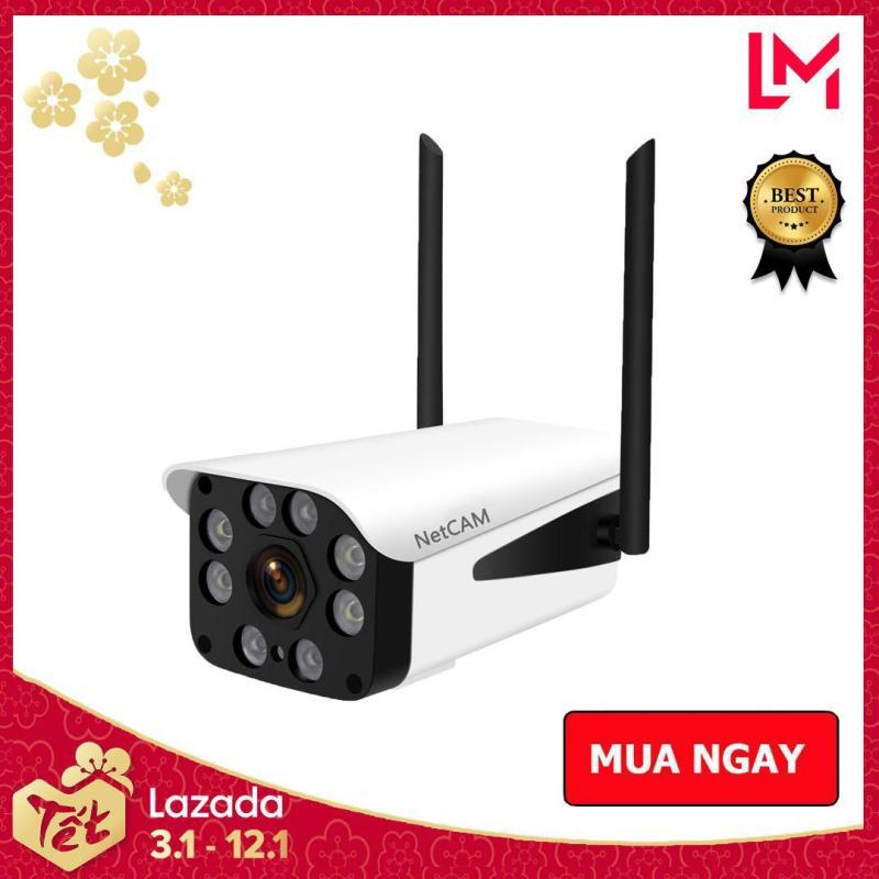 Camera giám sát IP wifi ngoài trời NetCAM NT2.0DL 1080P - Hãng Phân Phối Chính Thức - Bảo hành 12 tháng