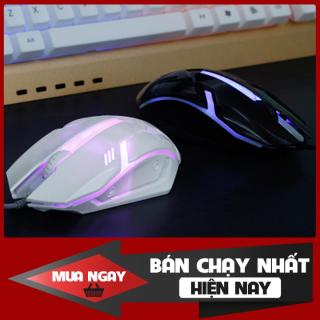 [Giá Hủy Diệt] Chuột chuyên game đẹp có đèn led 7 màu cao cấp - trẻ trung - hiện đại phù hợp với tất cả các dòng laptop và hệ điều hành hiện nay như Mac OS và Windows thumbnail