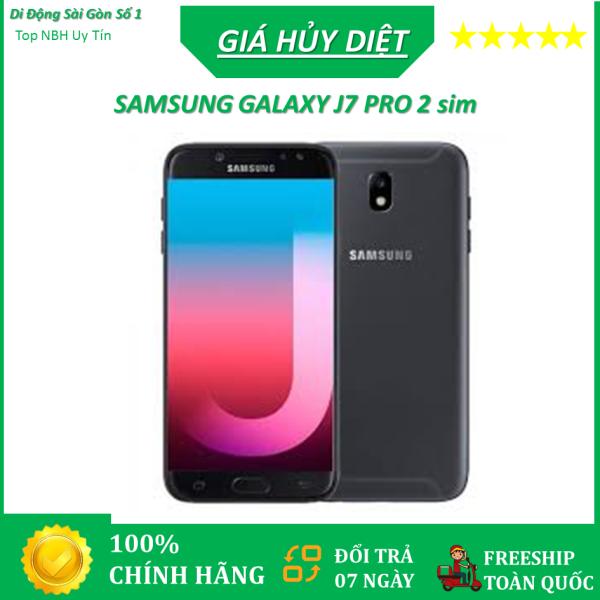 [BÁN LẺ = GIÁ SỈ] Điện thoại Samsung Galaxy J7 Pro 2sim ram 3G Bộ nhớ 32G CHÍNH HÃNG mới