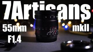 (CÓ SẴN) Ống kính 7Artisans 55mm F1.4 Mark II (Đời 2) - Fujifilm, Sony E, Canon EOS M, Nikon Z và Olympus Panasonic M4 3 thumbnail