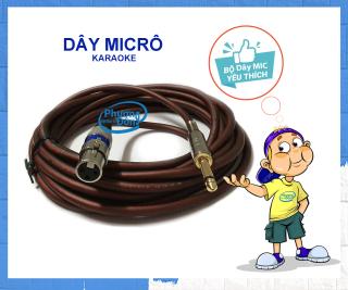 Dây Micro Karaoke loại lõi đồng dài 10m chất liệu dây cao cấp thumbnail