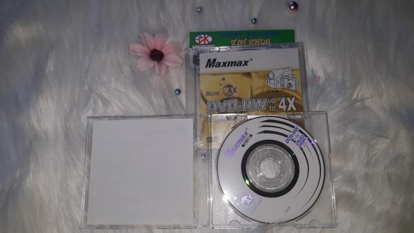 Bảng giá Đĩa trắng ghi xóa nhiều lần DVD-RW Maxmax Mini 8cm dung lượng 1.4GB Phong Vũ