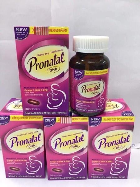 Viên Uống Bổ Cho Mẹ Bầu Pronatal DHA - Bổ sung mọi dưỡng chất cầu thiết cho Phụ nữ mang thai và Cho con bú nhập khẩu