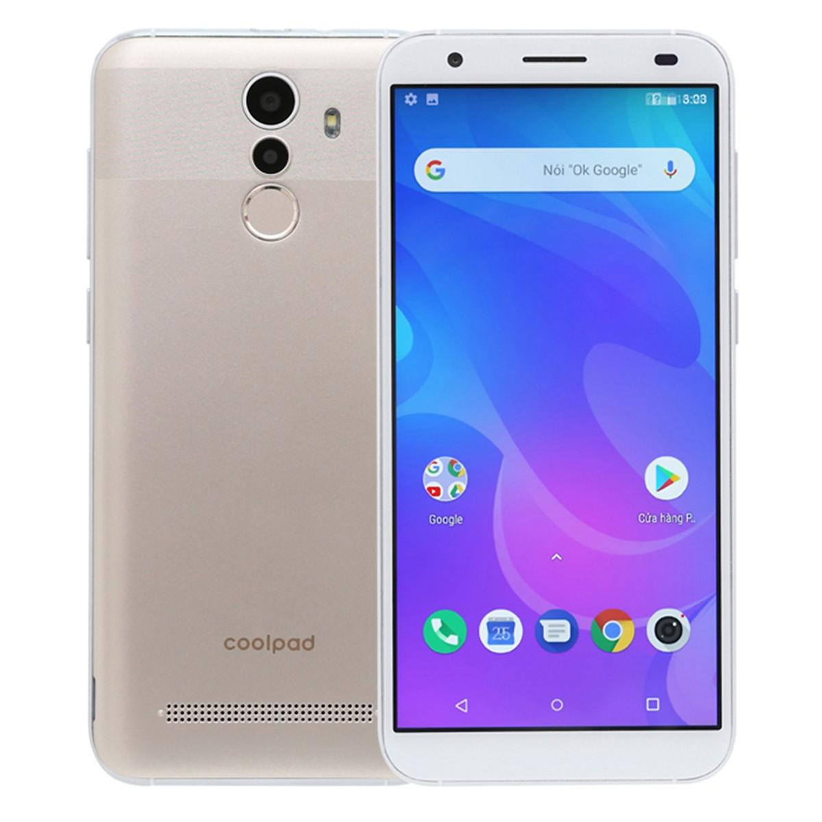 Điện thoại Coolpad N3D 2GB+16GB 8 MP- CÓ MIẾNG DÁN MÀN HÌNH , ỐP LƯNG - Bảo hành 1 năm