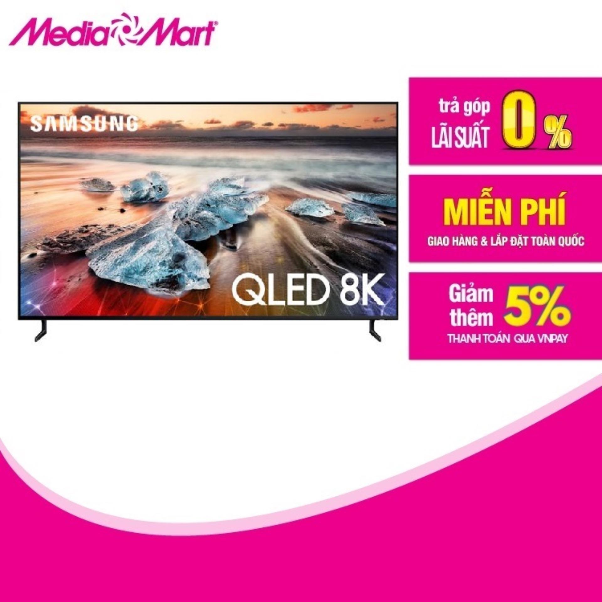 TV QLED SMART 8K UltraHDR 65 SAMSUNG QA65Q900RBKX