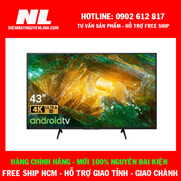 Bảng giá Android Tivi Sony 4K 43 inch KD-43X8050H VN3